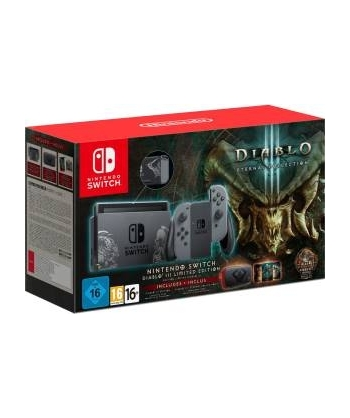 Switch Console Diablo 3...